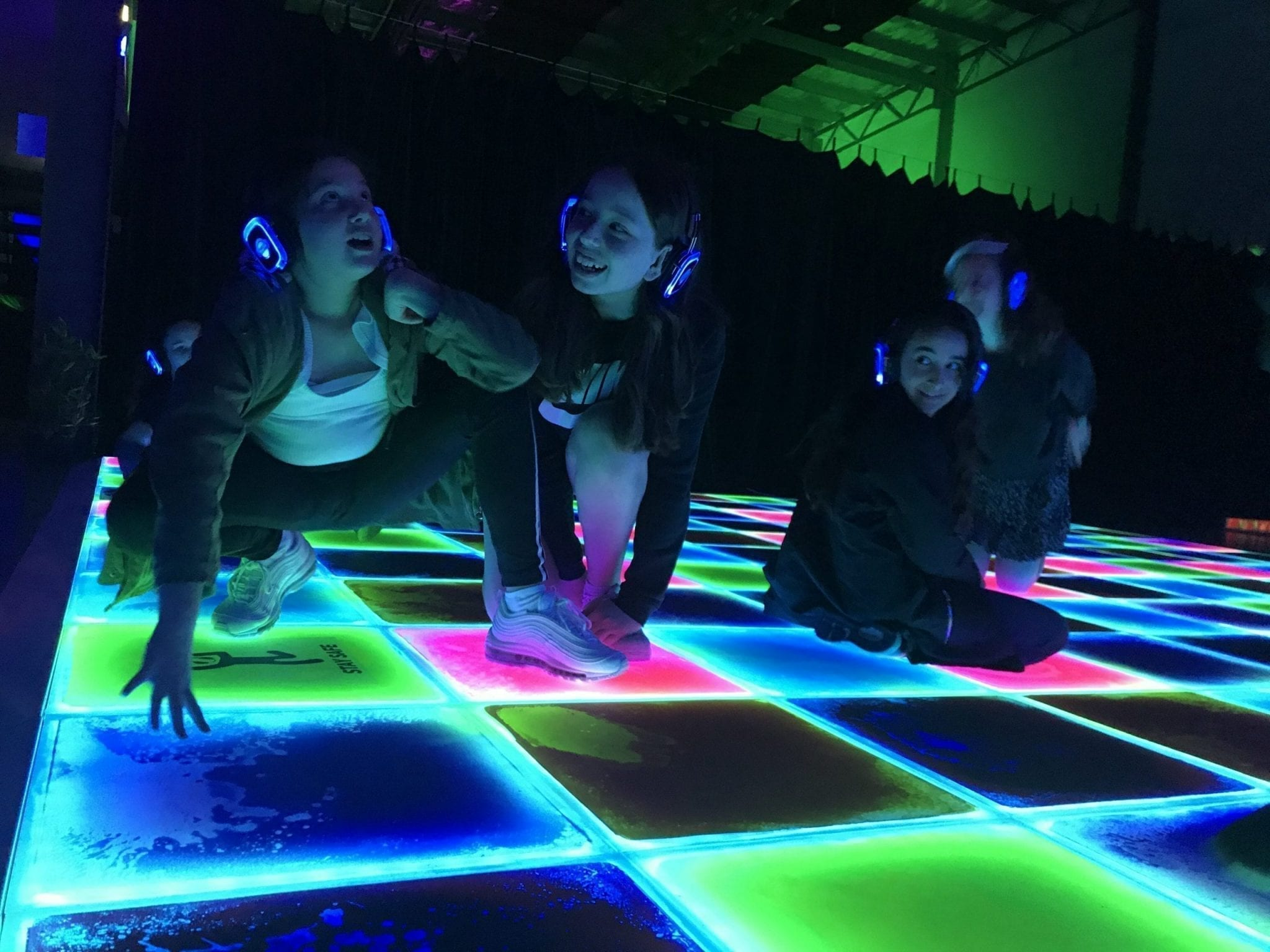 LED Liquid Moving Dance Floor